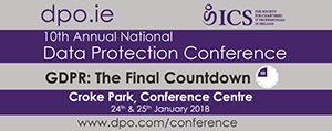 10th Annual national data protection conference @ Croke Park Stadium | County Dublin | Ierland