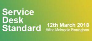 Service Desk Standard @ Hilton Birmingham Metropole | Marston Green | England | Verenigd Koninkrijk