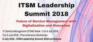 ITSM Leadership Summit 2018 @ Singapore