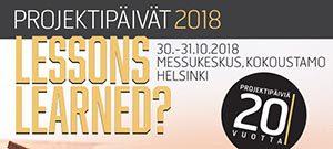 Project Management Days 2018 @ Messukeskus, Siipi, Helsinki | Helsinki | Finland