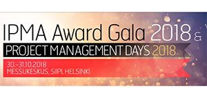 IPMA Award Gala 2018 @ Messukeskus Helsinki, Expo and Convention Centre | Helsinki | Finland