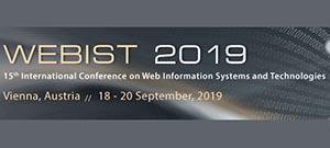 WEBIST 2019 @ Wenen, Oostenrijk | Wenen | Wenen | Oostenrijk