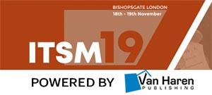 ITSM19 @ 155 Bishopsgate venue