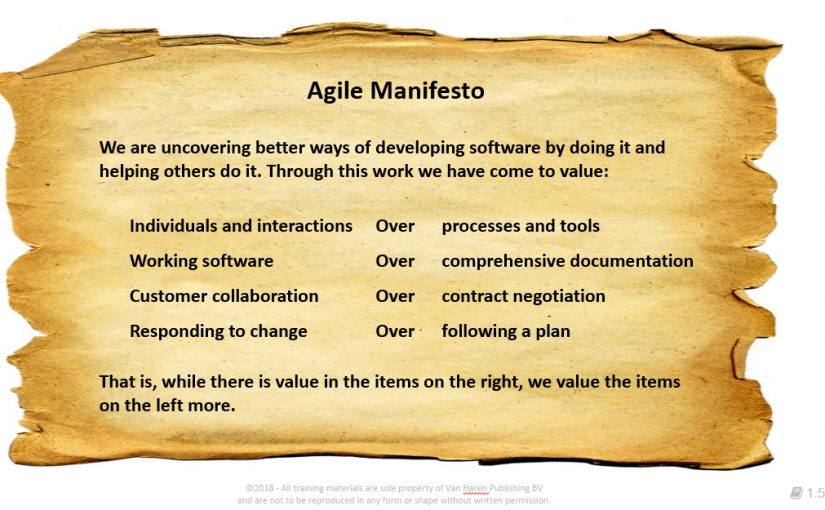 Image result for agile manifesto