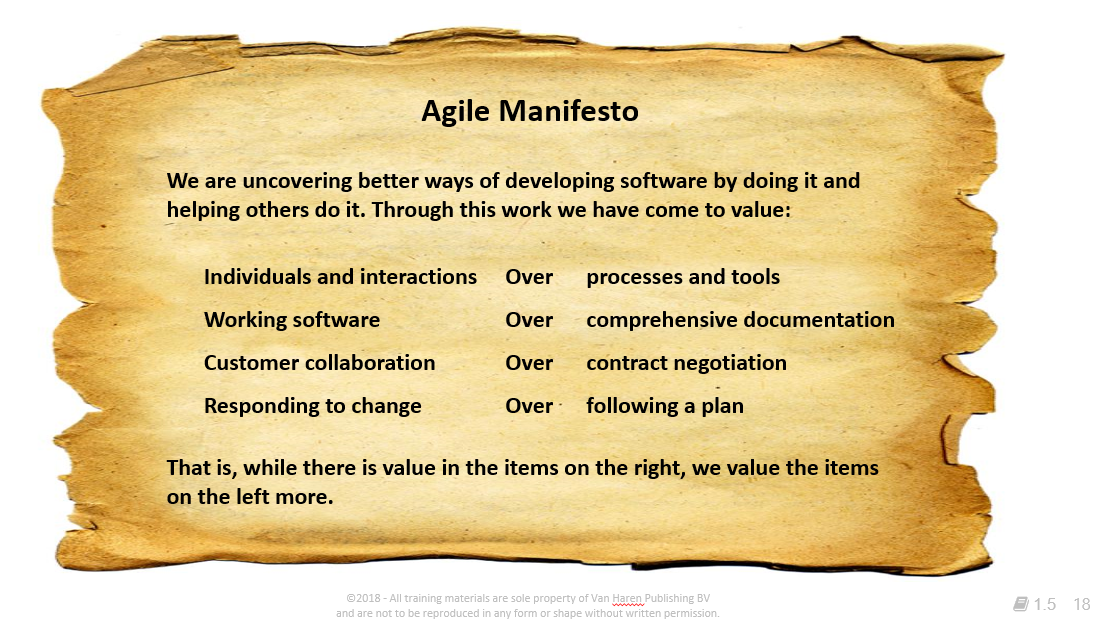Is Agile New? Agile Manifesto allocated – out of the Agile Scrum Handbook